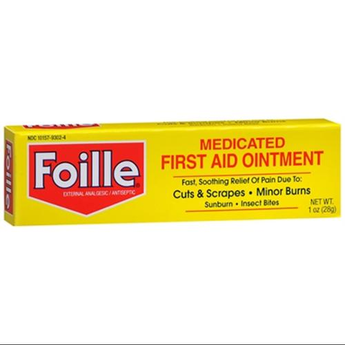 Foille Medicated First Aid Ointment 1 oz (Pack of 6)