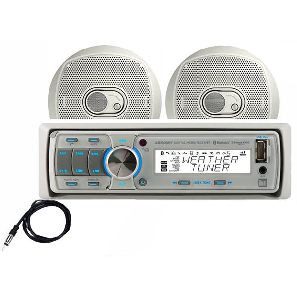 DUAL MCP500BT MCHLS W/SPKR