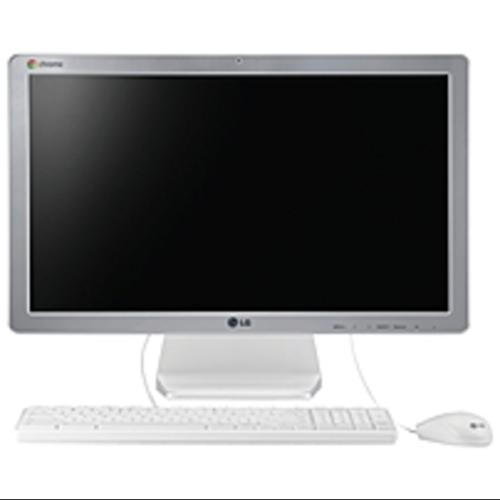 Click here to buy LG Chromebase 22CV241 All-in-One Computer Intel Celeron 2955U 1.40 GHz Desktop Silver, White 2 GB DDR3L SDRAM RAM 16 GB... by LG.