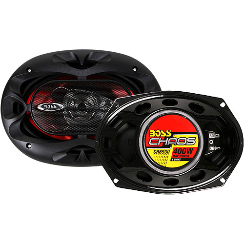 "Boss Audio CH6930 6"" X 9"" 3-Way Chaos Speakers - 400W (Pair of Speakers)"