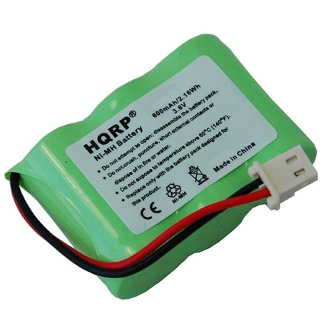 HQRP Battery for Kaito BT500 Voyager KA500 KA550 KA600 Emergency AM/FM/SW Weather Alert Radio BT-500 KA-500 KA-550 KA-600 + HQRP Coaster