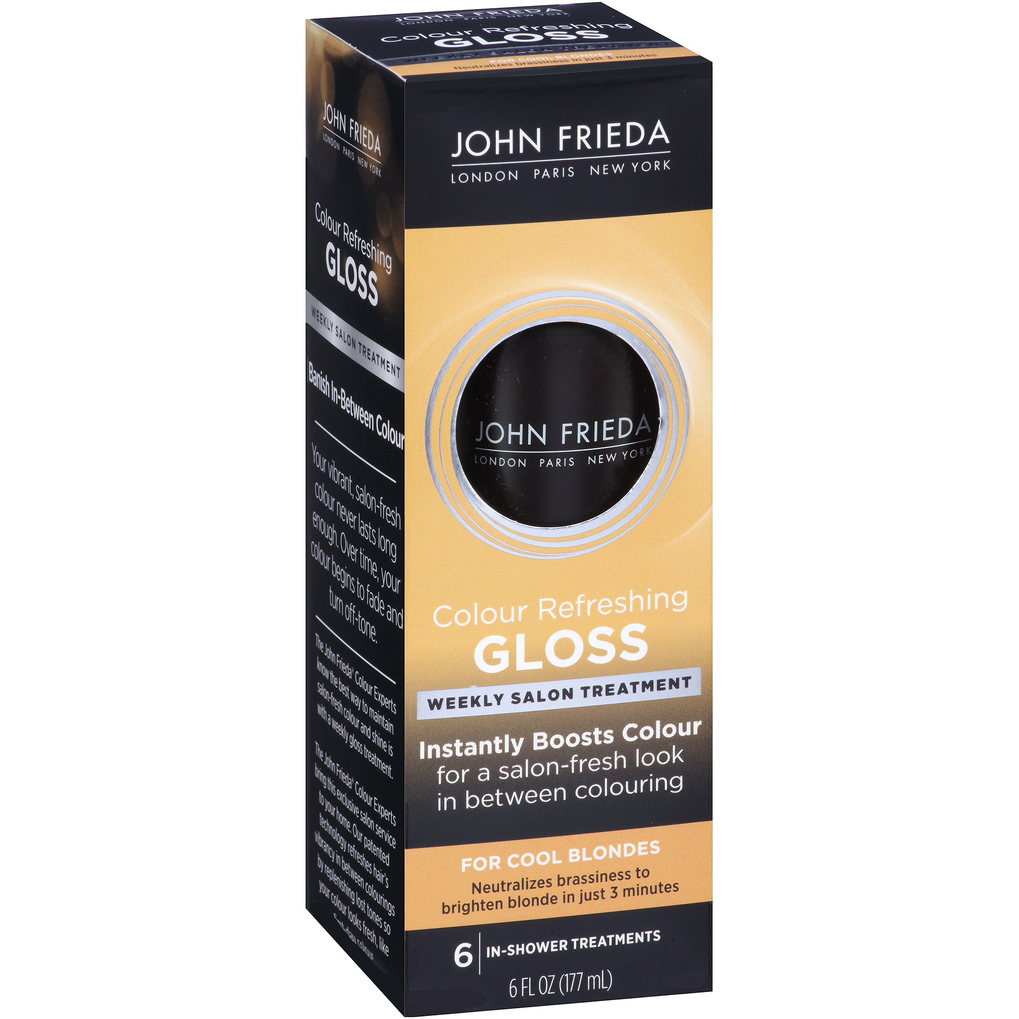 John Frieda Colour Refreshing Gloss for Cool Blondes, 6 fl oz