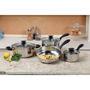 Gibson Home Silver Stream 7-piece Cookwa