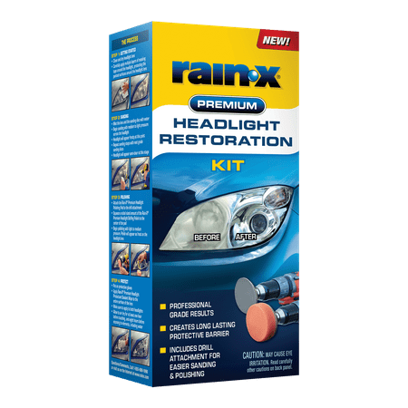 Rain-X Premium Headlight Restoration Kit $8 OFF Mail In