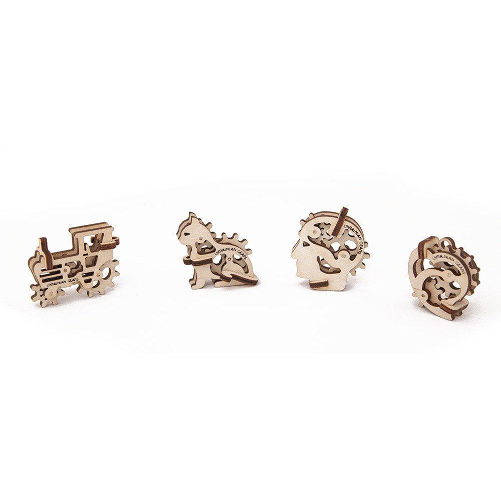 Ugears Tribka-Trinkets Mechanical 3D Puzzle by UGEARS