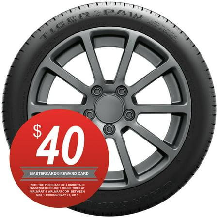 92 93 94 95 Manual - Uniroyal Tiger Paw GTZ All Season 215/45R18 93 W Tire