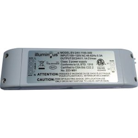 24V 26W Dimmable CV DC LED Driver ETL (UL) approved