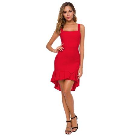 Posh Fashion - Lilly Posh Elegant Fit and Flare Cocktail Dress,Women Fashion