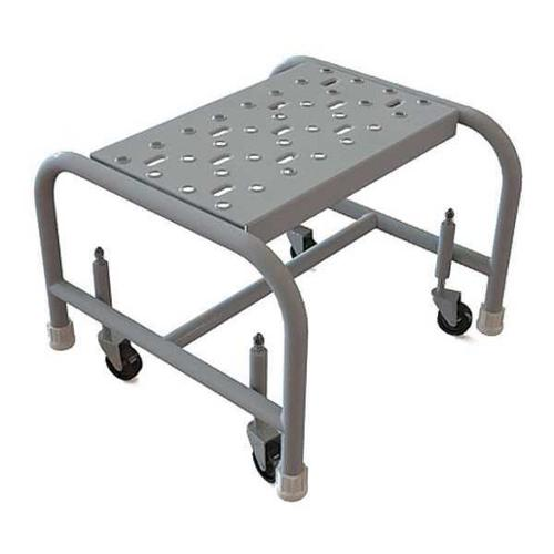 TRI-ARC WLSR001166 Mobile Step Stand,Steel,Perforated,16inW G0977971