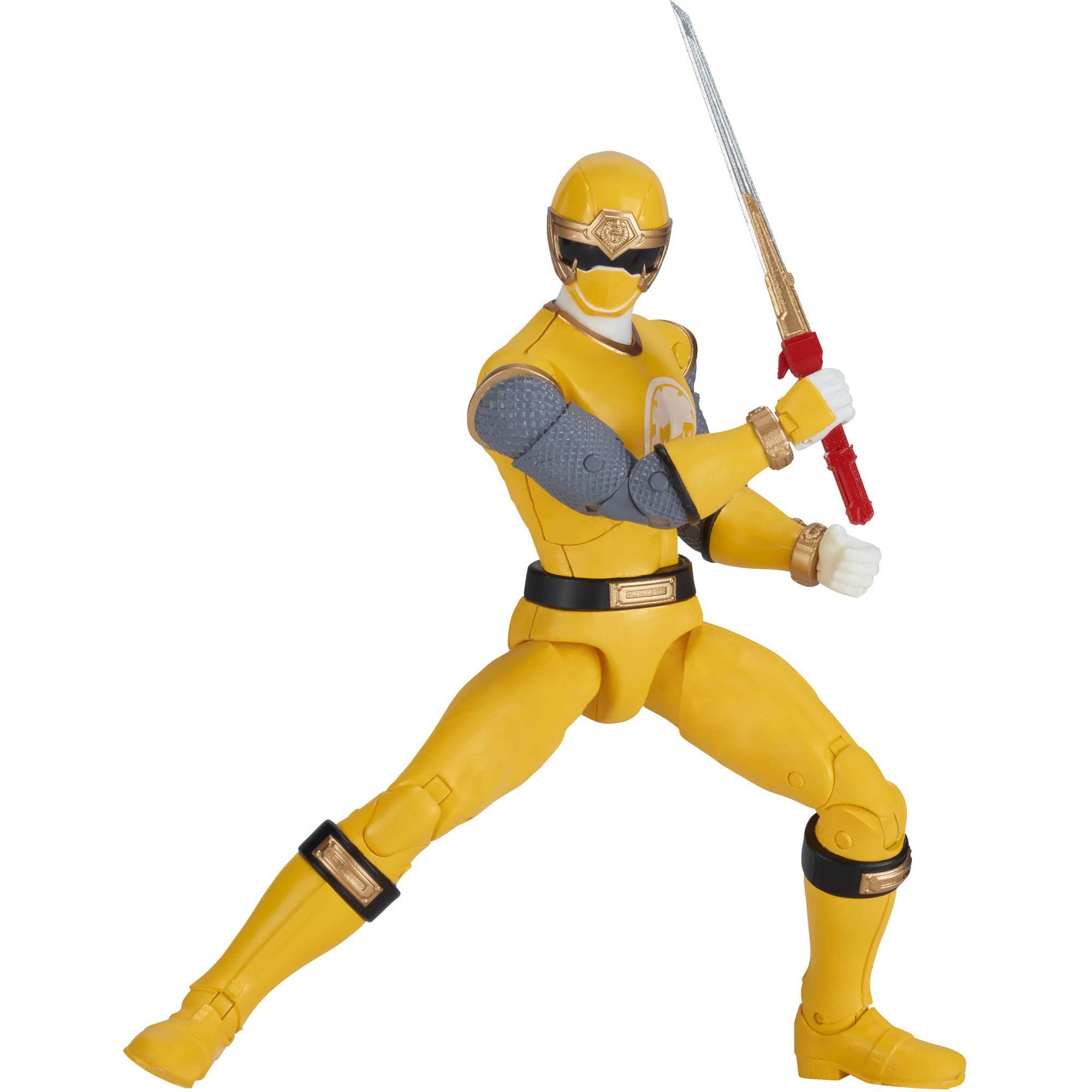 Power Rangers Legacy Ninja Storm Yellow Ranger - Walmart.com