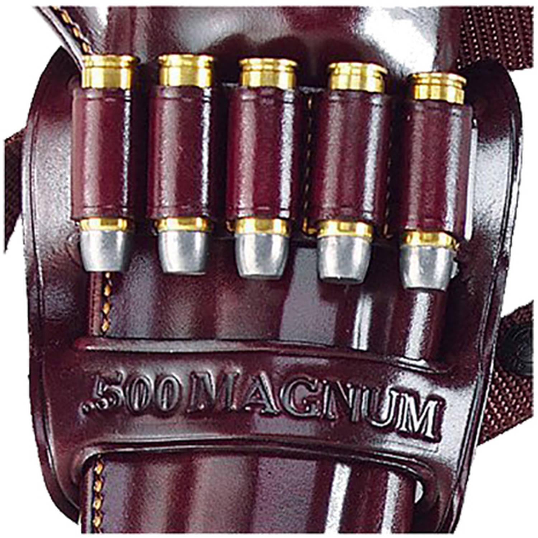 Galco KHB62H Kodiak Bandolier 500 Magnum 5rd Havana Brown Leather by GALCO INTERNATIONAL