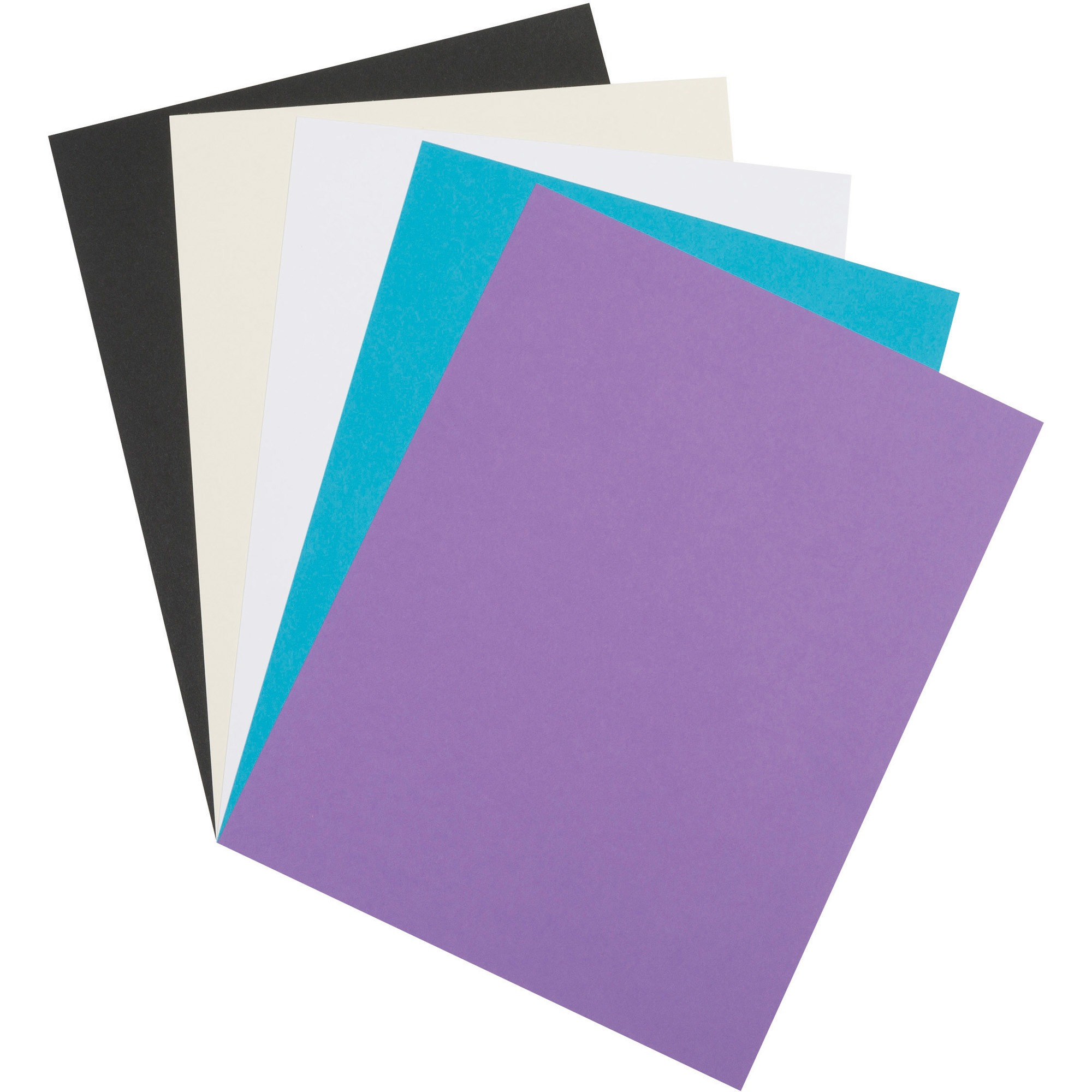 Array Card Stock, Classic Colors, 100 SHeets by PACON CORPORATION