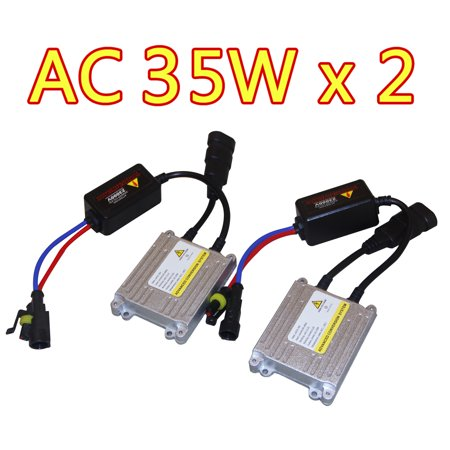 Start Pack (2 Pack of AC 35W HID Ballasts Replacement 12V Fast Start For HID Xenon Coversion)