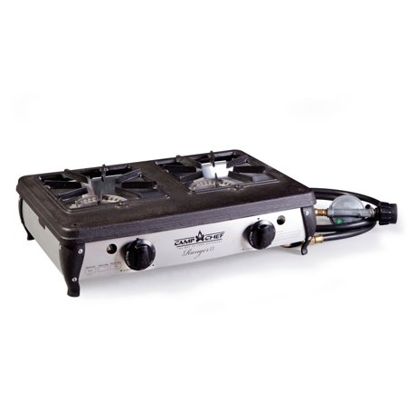 Camp Chef Ranger II Portable Outdoor Camping Camp 2 Burner Propane Cooking