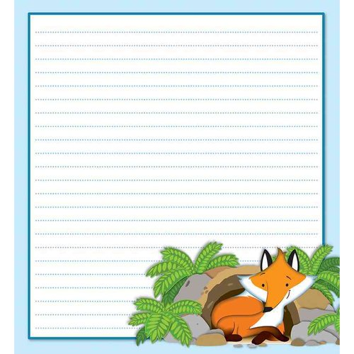 Playful Fox Notepad