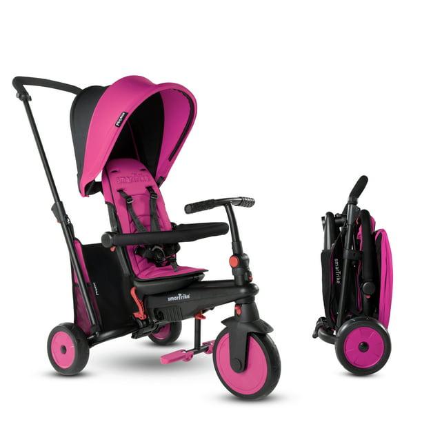smarTrike STR3, 6-in-1 Folding Stroller Tricycle, 10M+, Pink - Walmart.com - Walmart.com