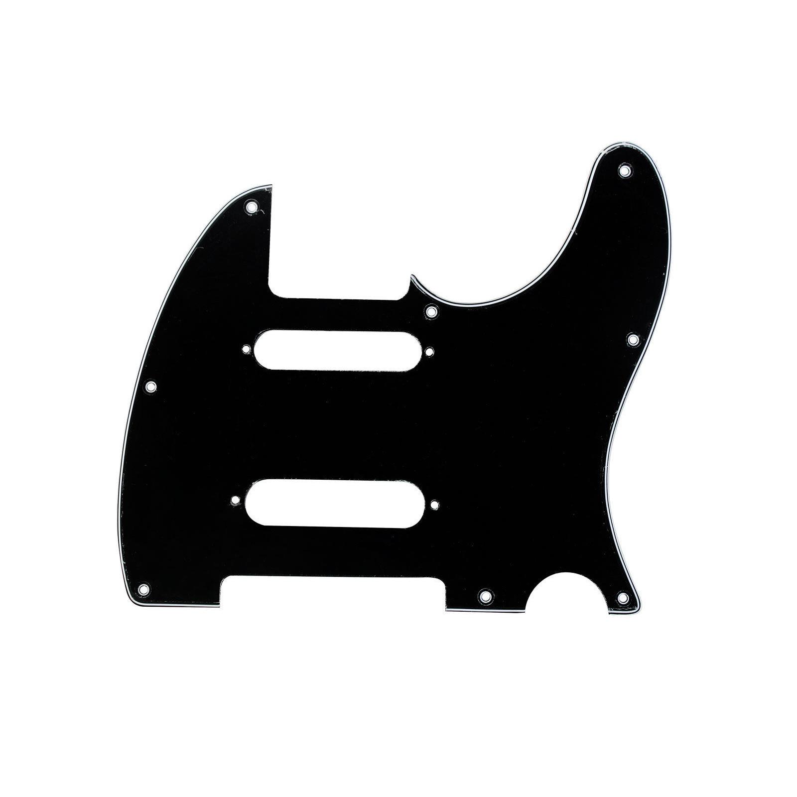 920D CS 3 Ply Pickguard for Fender Nashville Telecaster CNC Precision Cut BK by
