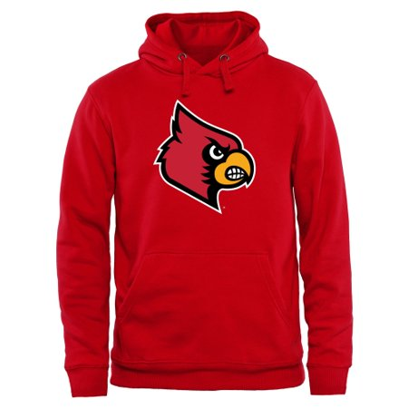 size 40 67441 da26a Louisville Cardinals Classic Primary Pullover Hoodie - Red - Walmart.com