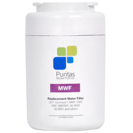 Ge Mwf Water Filter Replacement   Puritas   Nsf 42 Certified   Made In The Usa