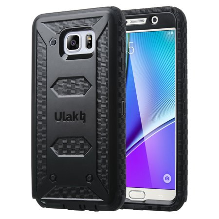 ULAK Galaxy Note 5 Case, KNOX ARMOR Rugged Dual Layer Hybrid Protective Case For Samsung Galaxy Note 5 Built with Belt Clip Holster