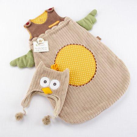 Baby Aspen My Little Night Owl Snuggle Sack and Cap