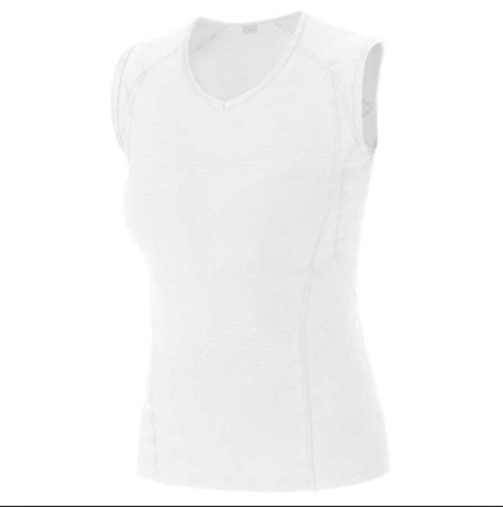 Gore Bike Wear Ladies Base Layer White Size XX-Large Bike Singlet by Gore Bike Wear