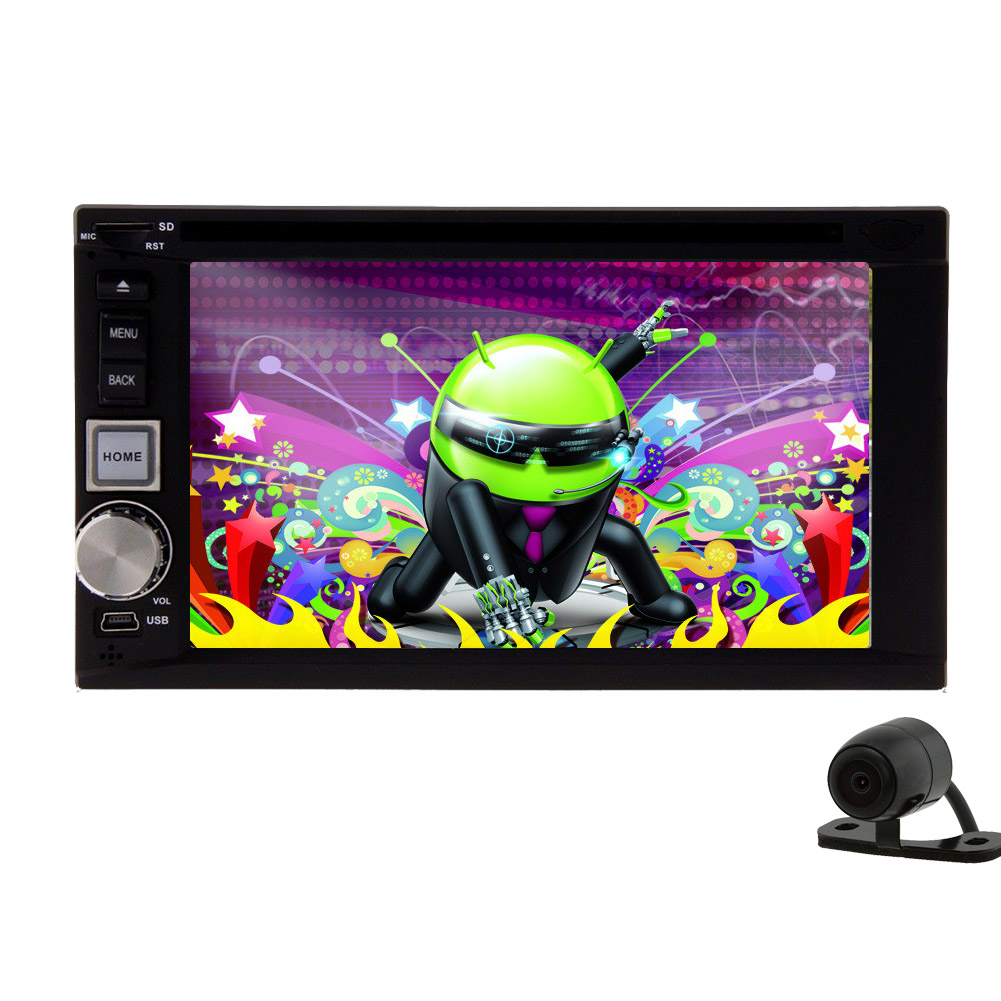 GPS Android 5.1 Capacitive In Dash Auto DVD CD VCD Car Vi...