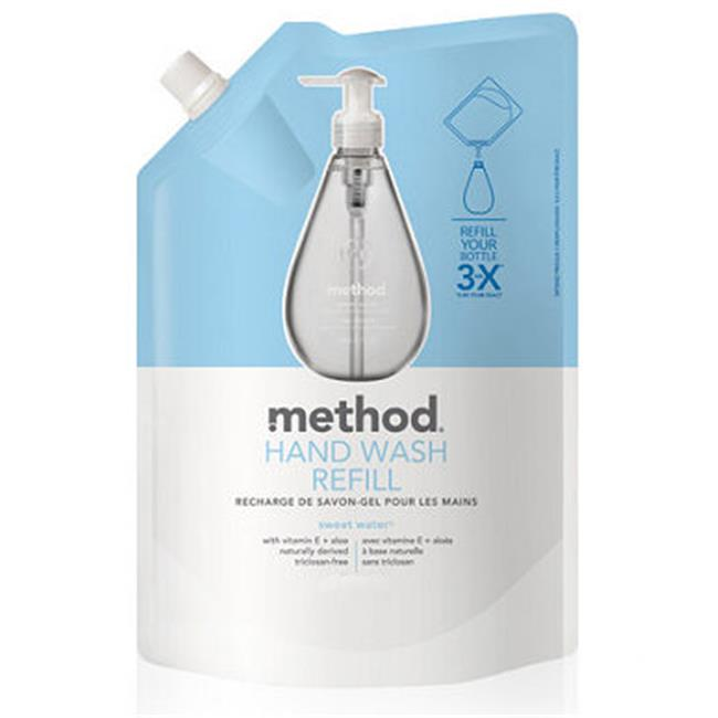 Method 00662 REF Foaming Hand Wash - Sweet Water Refill - 28oz Pack Of 6