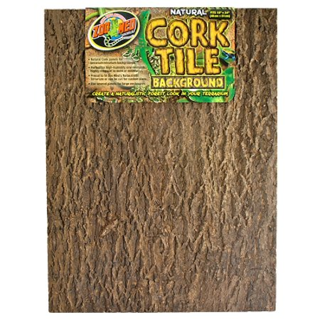 Zoo Med NCB-4 Natural Cork Tile Background, X-Large, 18 Inch x 24 Inch