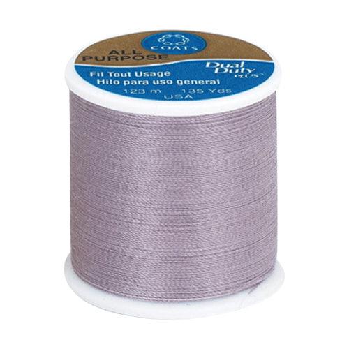 Coats & Clark Dual Duty Plus Thread, 135 yds, Purple Haze