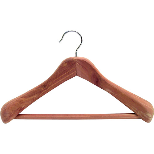 Household Essentials Deluxe Cedar Coat Hanger