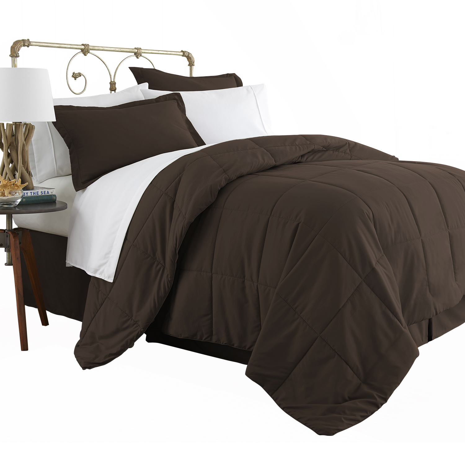 Michael Anthony 8 Pc Queen Bed in a Bag