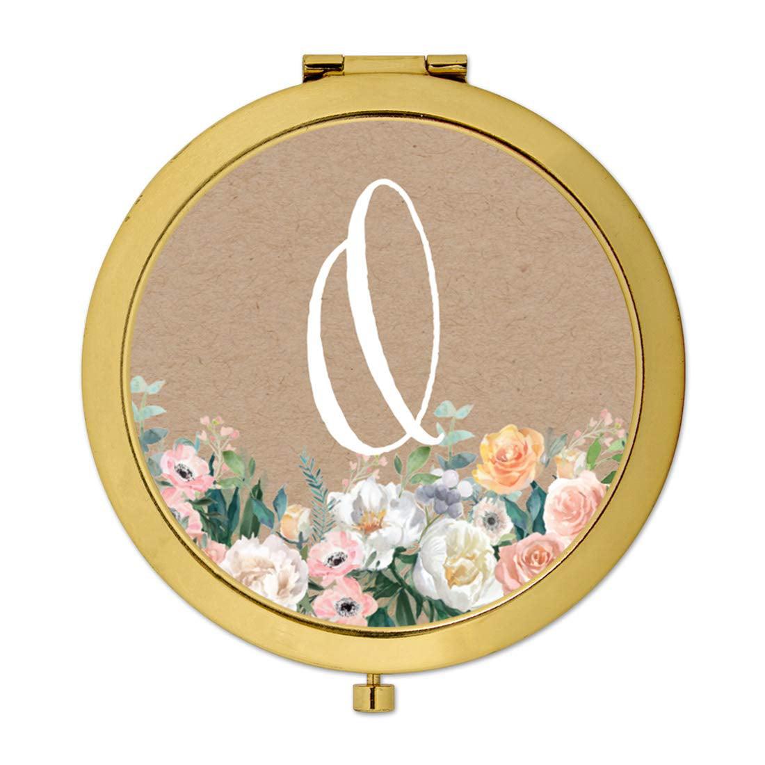 Wedding Gifts At Walmart: Andaz Press Gold Compact Mirror Bridesmaid's Wedding Gift