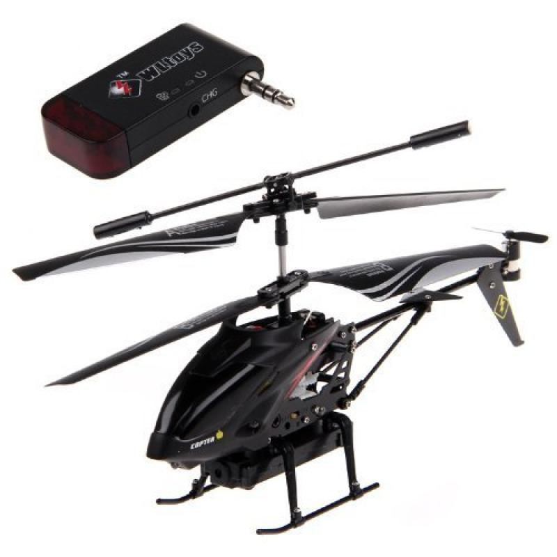 3.5-CH iPhone/iPad/iPod Controlled RC Helicopter with Cam...