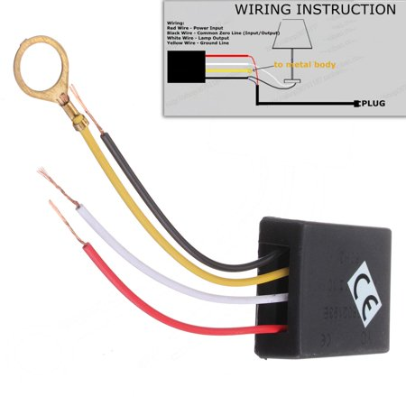 Custom Control Sensors (3 Way 110/220V Table Desk Light Lamp Touch Switch Control Sensor Dimmer Repair for)