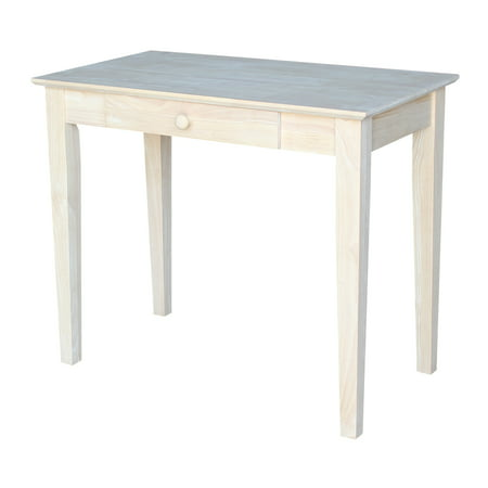 International Concepts Writing Table, (Alder Unfinished Table)