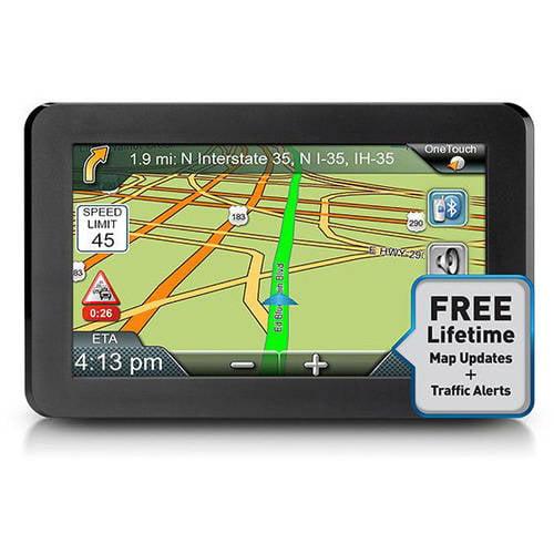 "Magellan RoadMate 9465T-LMB 7"" Portable GPS"