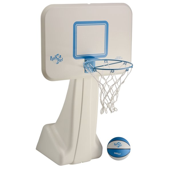 Dunn-Rite PoolSport Portable Pool Basketball Hoop (B950) - Walmart ...