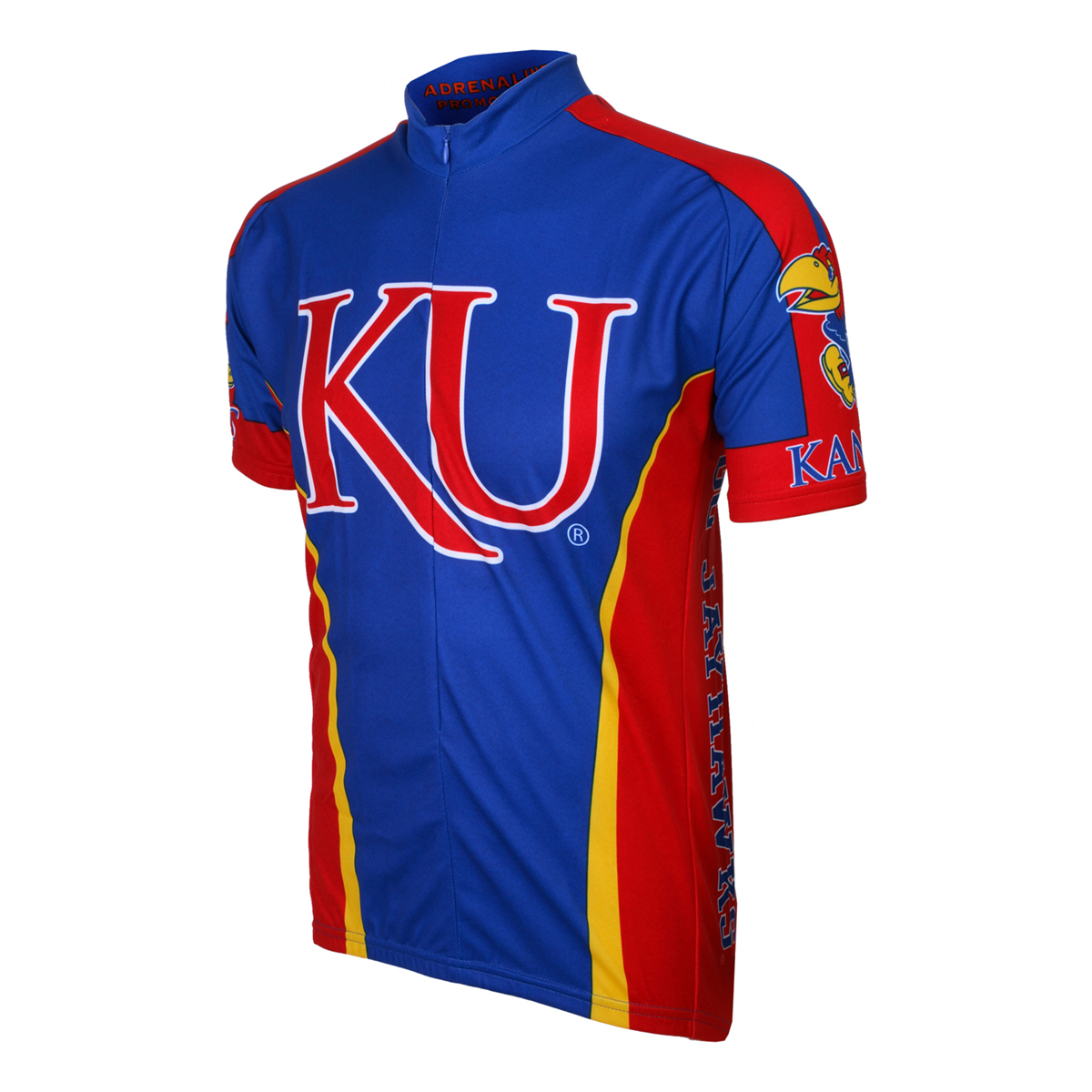 Adrenaline Promotions Kansas University Jayhawks Cycling Jersey