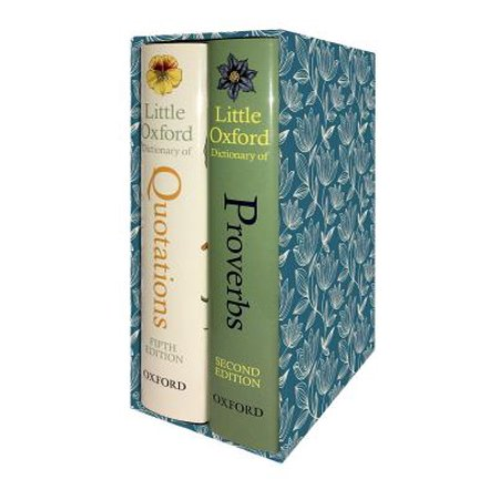 The Little Oxford Gift Box : Little Oxford Dictionary of Quotations; Little Oxford Dictionary of Proverbs