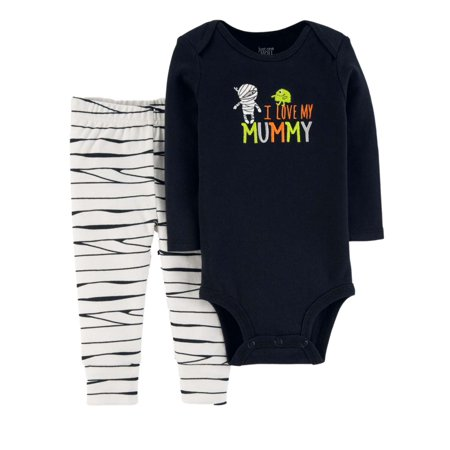 Carters Infant Boys First Halloween Outfit I Love My Mummy Bodysuit & Pants