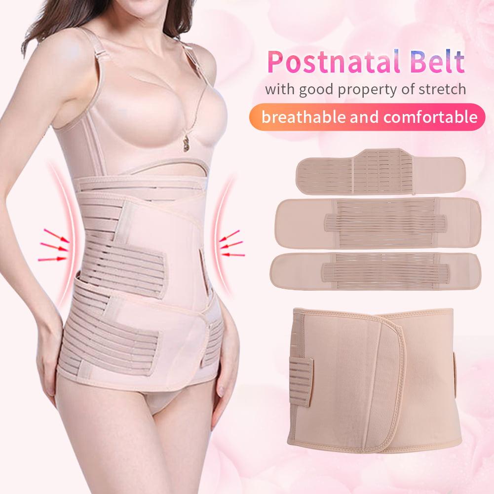 Yosoo 3pcs/set Postnatal Bandage Post Pregnancy Belt Postpartum Slimming Waist Belly Recovery Band, Postpartum Slimming Band, Postpartum Recovery Band