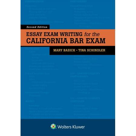 Essay Exam Writing for the California Bar Exam - Walmart.com