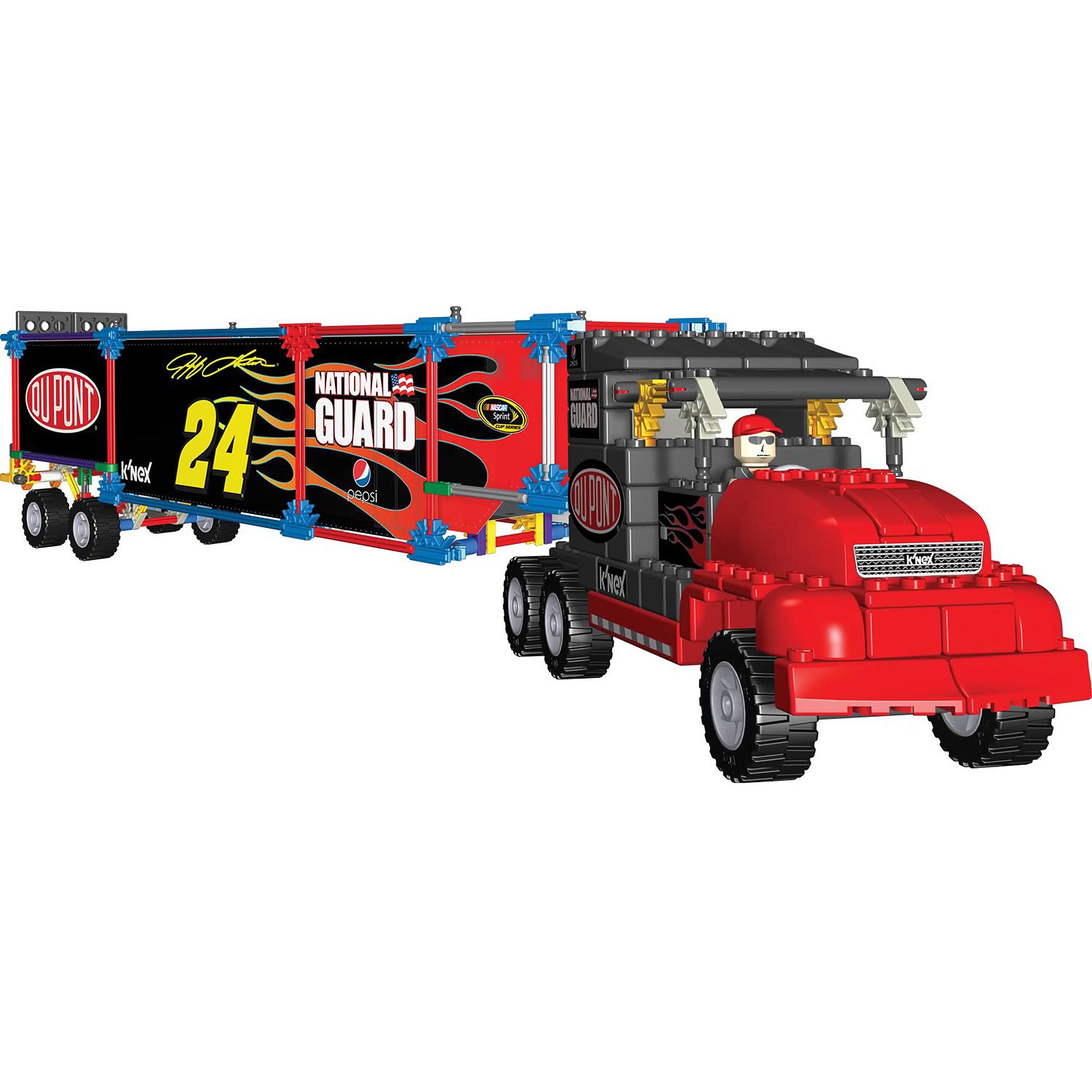 K'Nex NASCAR 24 Dupont Transporter Building Set