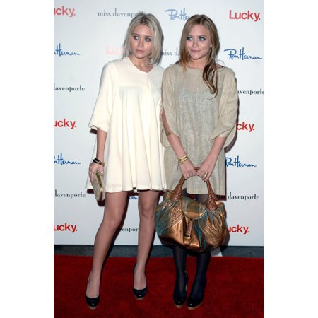 - Ashley Olsen Mary Kate Olsen At In-Store Appearance For Lucky Magazine Preview Of Miss Davenporte Collection Ron Herman Boutique Los Angeles Ca November 17 2005 Photo By David