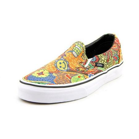e47180c206 Vans Womens Classic Slip-On Van Doren Sneakers-Multi/Aborigine