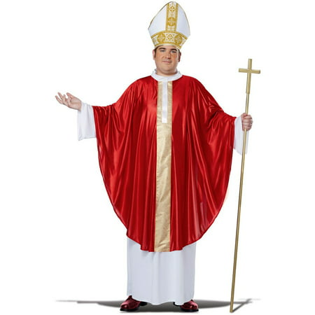 Plus Size Adult Pope Costume (Religious Costume)