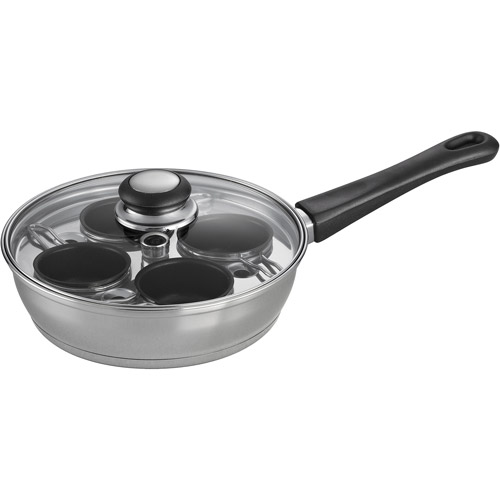 """Tramontina 4-Cup 8"""" Covered Egg Poacher"""