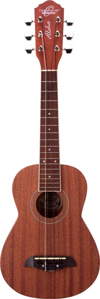 Oscar Schmidt 6-String Tenor Ukulele, All Mah, Satin, OU26T by Oscar Schmidt