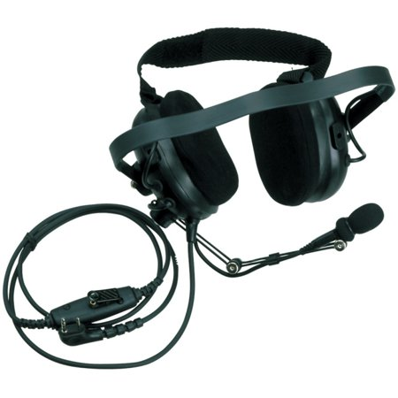 Kenwood Noise Reduction Headset (overhead) For Kenwood Two Way Radio Stereo Black Wired Over-the-head Binaural... by